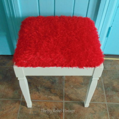 Fun, Fast, & Funky Bench Seat Makeover