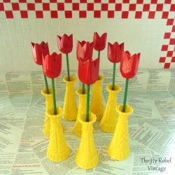 How To Spray Paint Glass Vases Quick & Easy