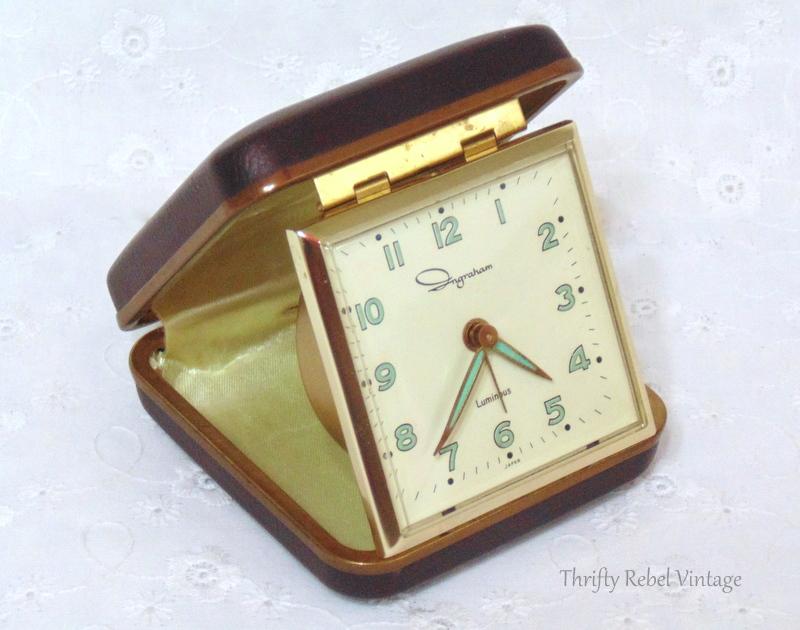 Ingraham vintage alarm clock