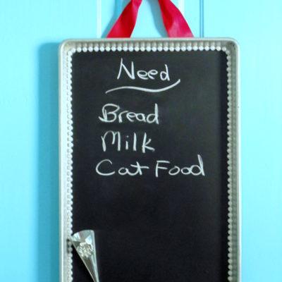 Quick & Easy Cookie Sheet Chalkboard