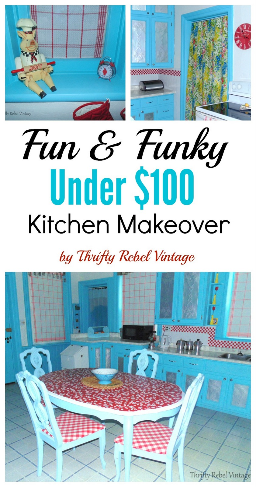 Under $100 Kitchen Makeover
