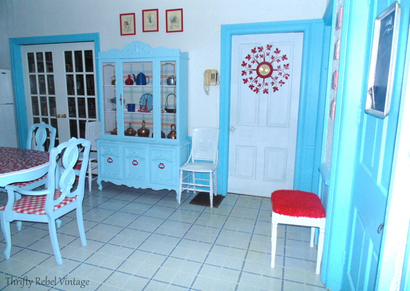 Spray painted chairs makeover for under $100 kitchen makeover reveal after