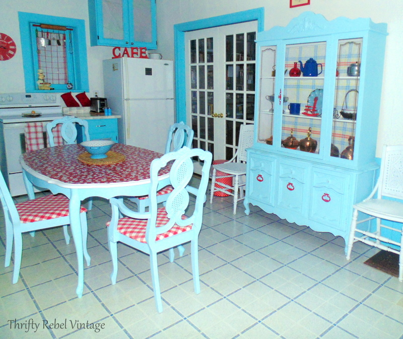 Kitchen table and chairs makeover for under $100 kitchen makeover reveal after