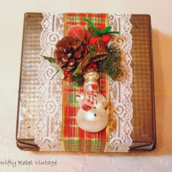 How To Make A Repurposed Baking Pan Gift Box