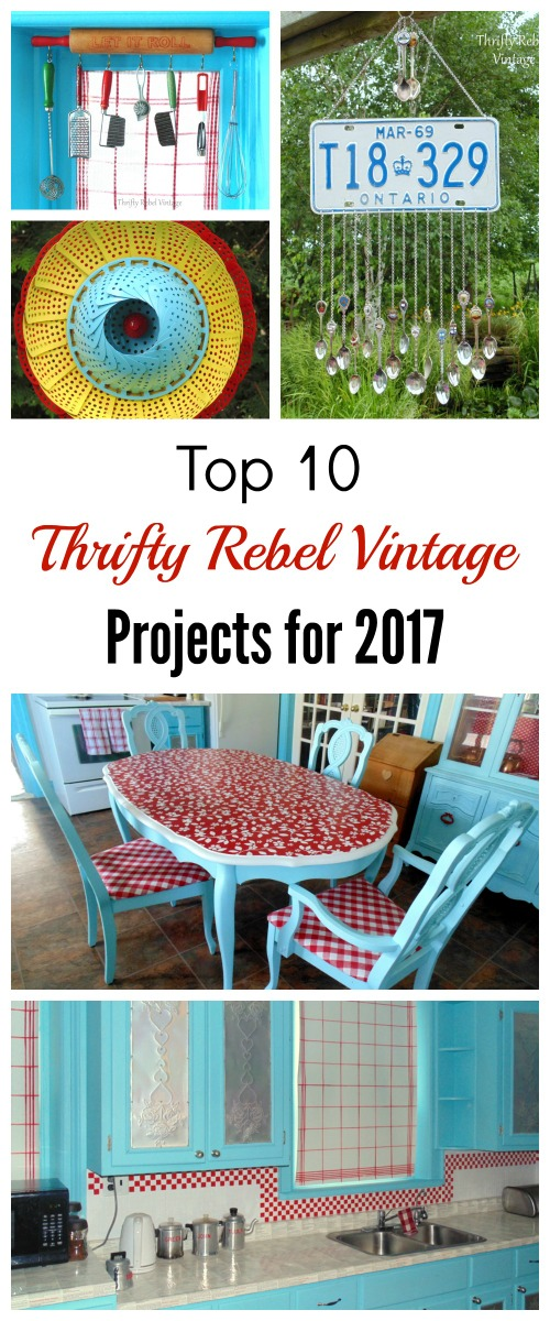 Top 10 Thrifty Rebel Vintage. Projects for 2017