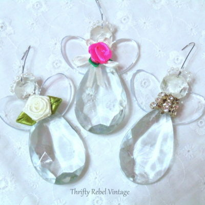 chandelier crystal angel ornaments
