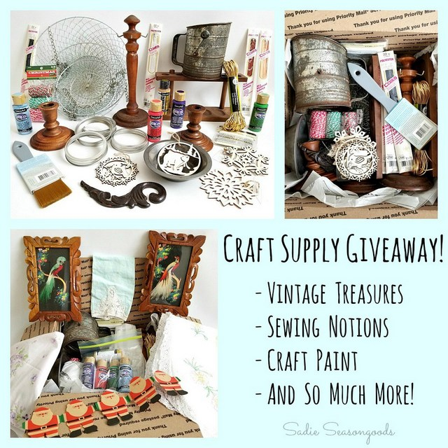 Craft Junk Giveaway January 2018 Sadie Seasongoods