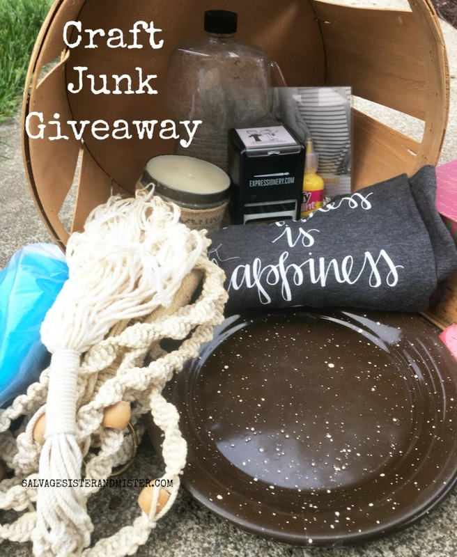 Craft Junk Giveaway Salvage Sister and Mister