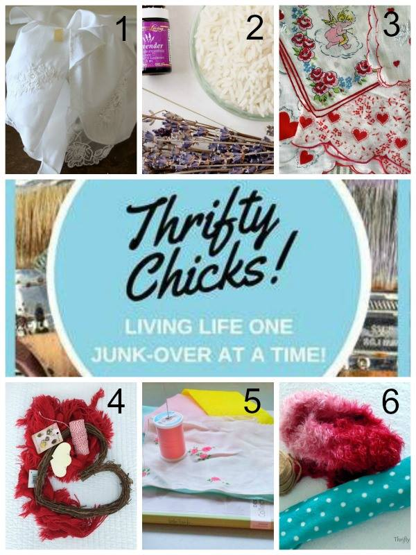 Thrifty Chicks January 2018 Scarf or Hankie Project Challenge