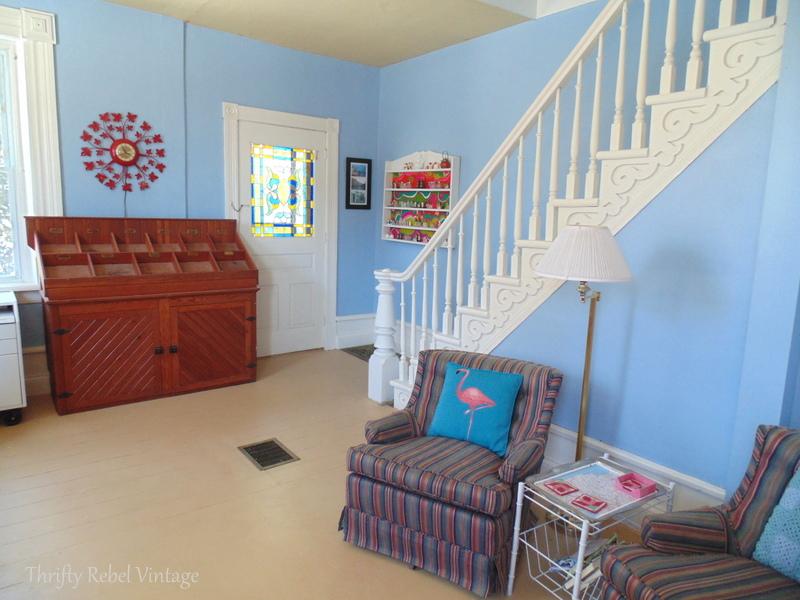 living room blue before 1