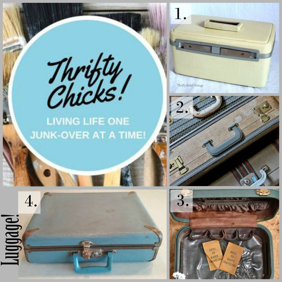 Thrifty Chicks Luggage Challenge March 2018