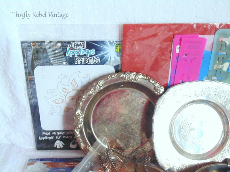 Craft Junk Giveaway Thrifty Rebel Vintage April 2018 2