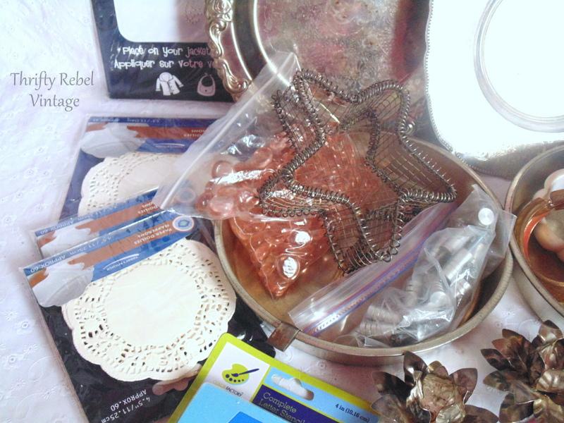 Craft Junk Giveaway Thrifty Rebel Vintage April 2018 4