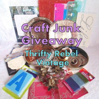 Craft Junk Giveaway – April 2018