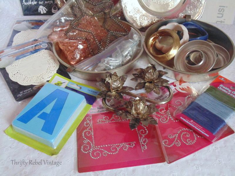 Craft Junk Giveaway Thrifty Rebel Vintage April 2018 6