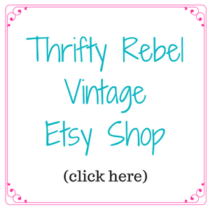 Thrifty Rebel Vintage Etsy Shop