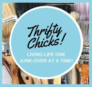 Thrifty Chicks Button