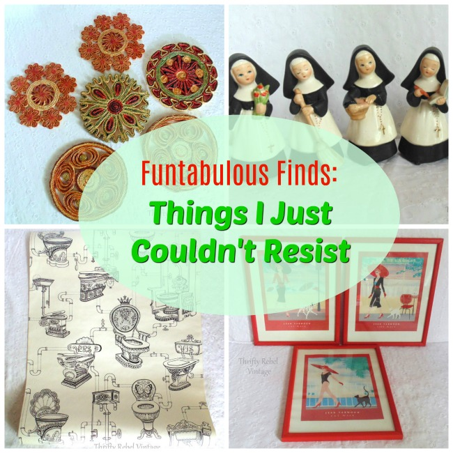 Funtabulous Finds I Couldn't Resist collage