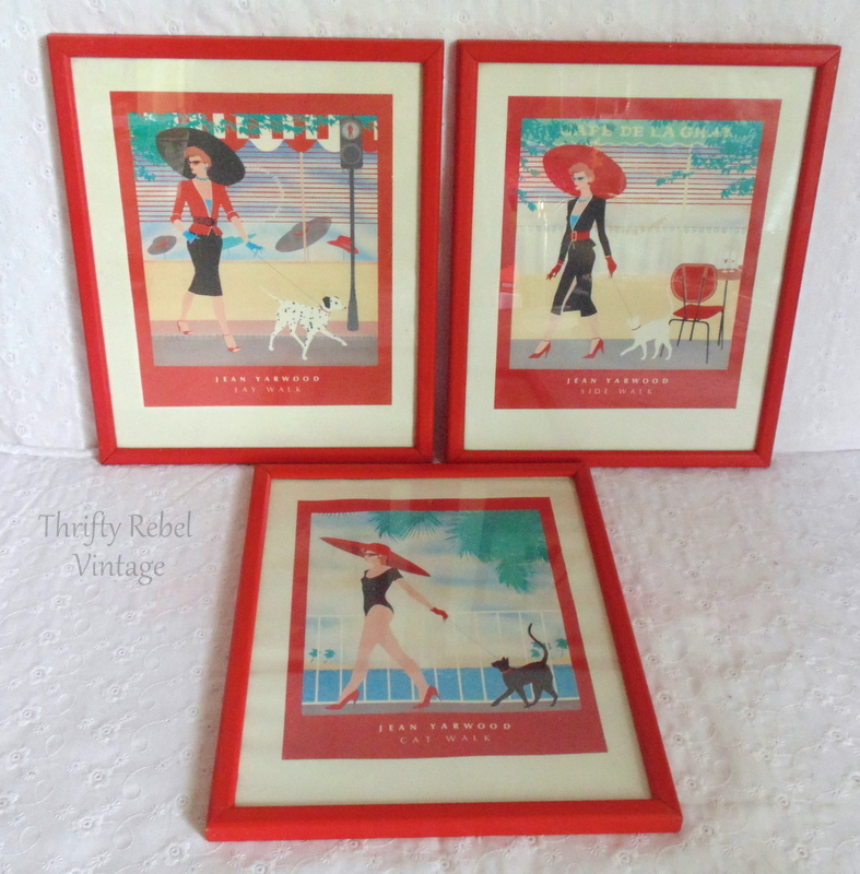 Set of 3 Jean Yarwood pictures