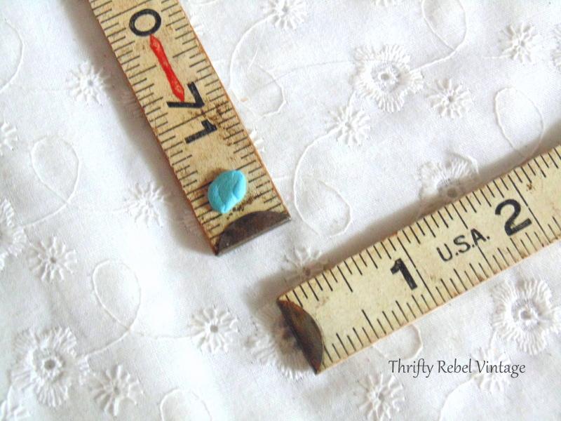 vintage folding ruler frame 3