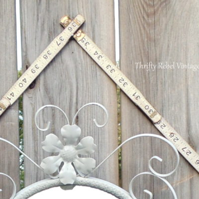 vintage folding ruler frame 6anew