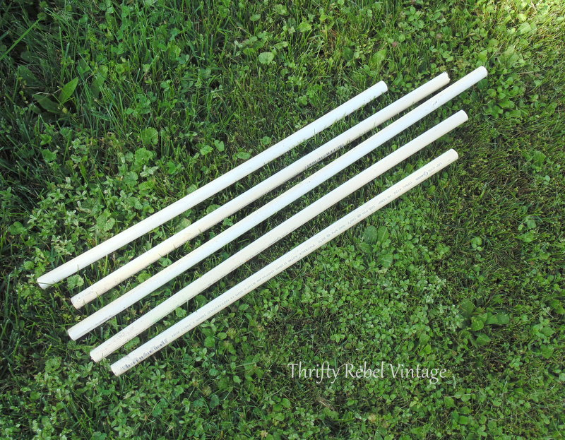 pvc pipe stems for diy tulips