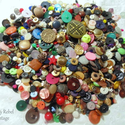 Thrifted Buttons Gloriousness: Fabulous Finds Friday