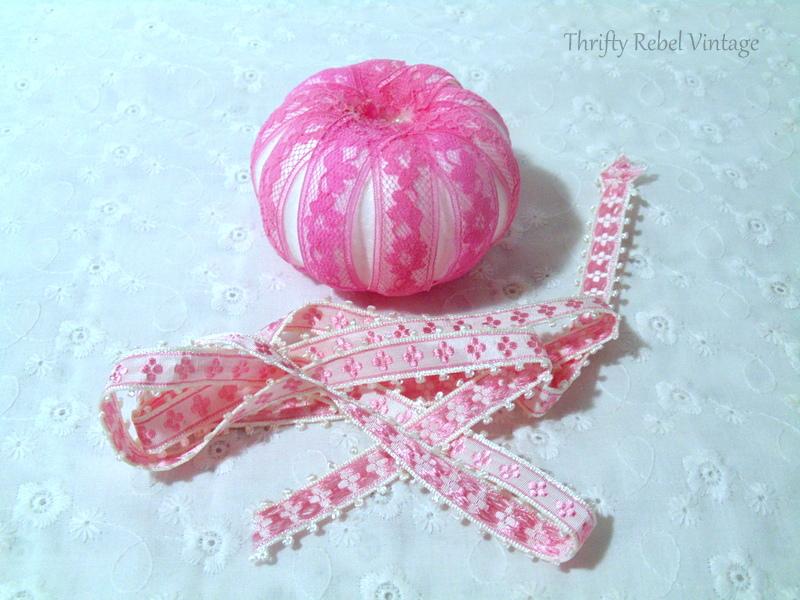 diy lace and ribbon dollar store pumpkins