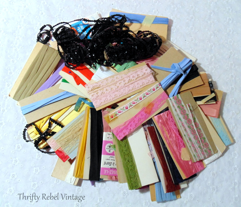 lace and ribbon supplies
