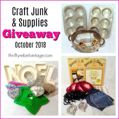 Craft Junk Giveaway – October 2018