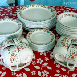Fabulous Finds Friday: Crown Dynasty Dinnerware Plus