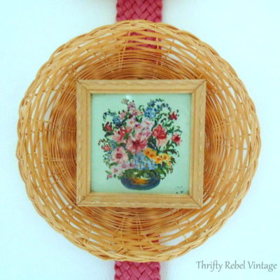 Fabulous Finds Friday: Mini Flower Paintings on Glass