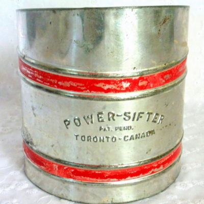 Fabulous Finds Friday:  Vintage Power Sifter Flour Sifter
