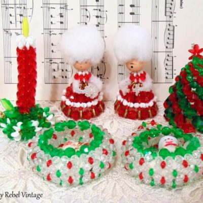 Fabulous Finds Friday: Vintage Beadwork Ornaments Giveaway
