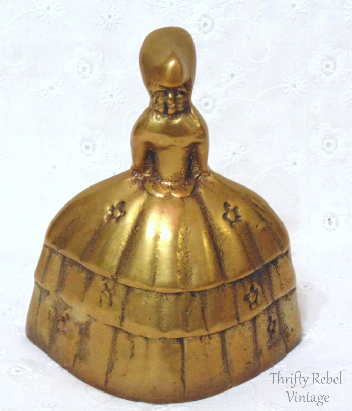 Southern Belle or Victoria Lady brass bell