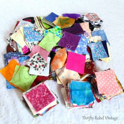 thrifted lot of 2 inch quilting squares