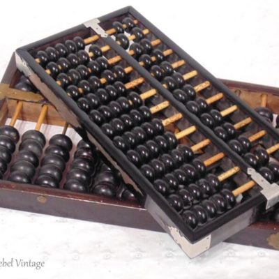 Fabulous Finds Friday: A Vintage Wooden Abacus Or Two