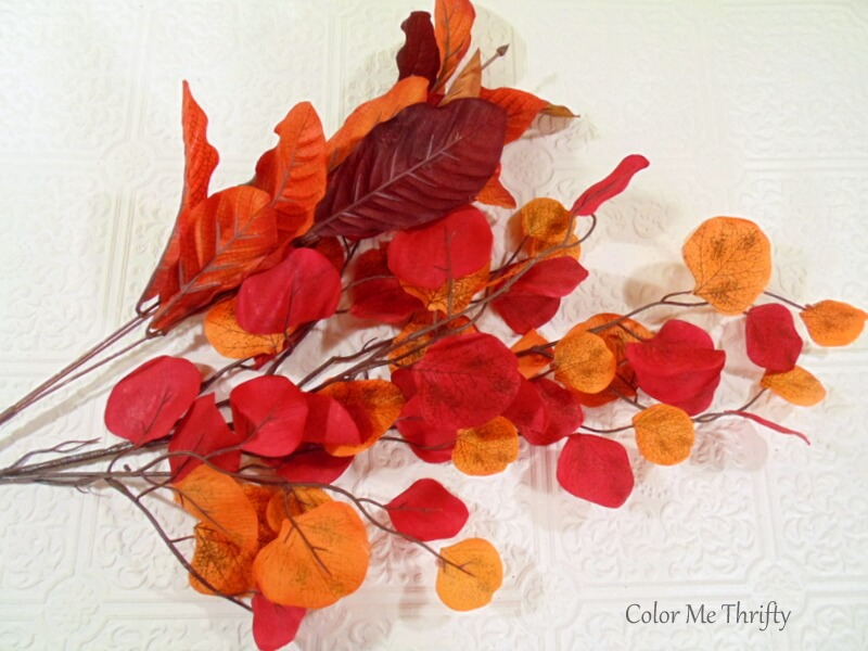 Miscellaneous artificial fall leaves
