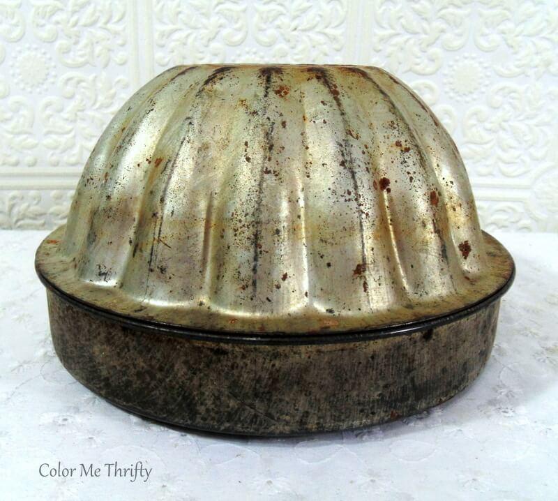 vintage acorn baking pan