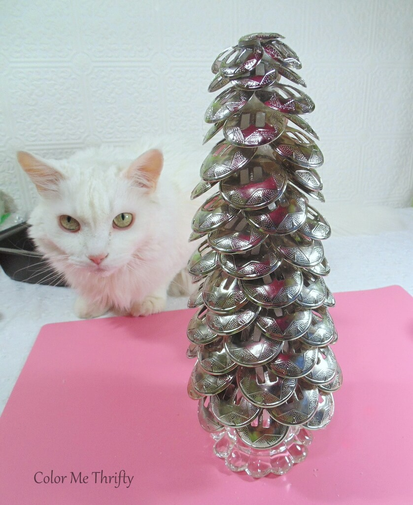 Salty and diy repurposed Christmas tree from conchos