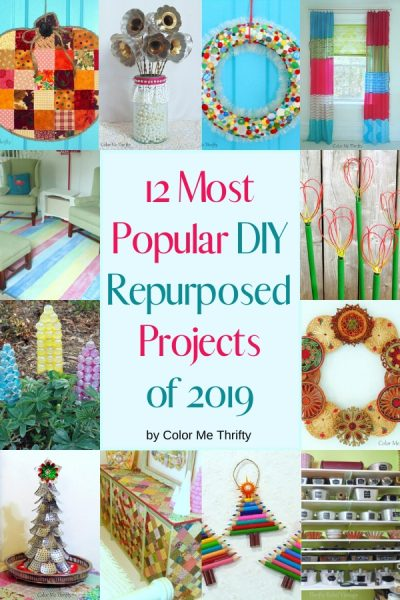 12 Most Popular DIY Repurposed Projects of 2019
