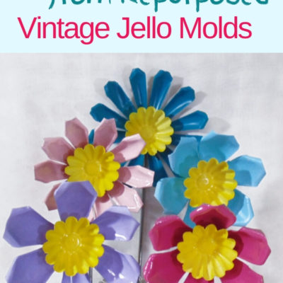 How to create DIY flowers from repurpoed jello molds