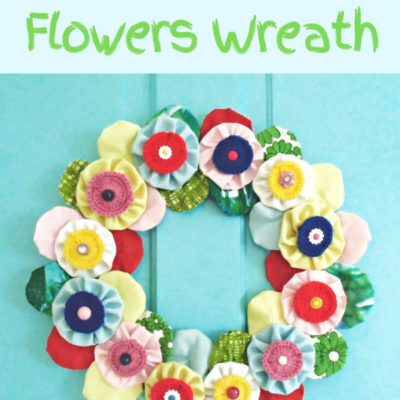 Quick-Easy-DIY-Yoyo-Wreath