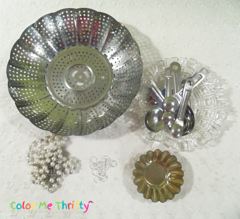 Accessories for reused steamer wind chimes