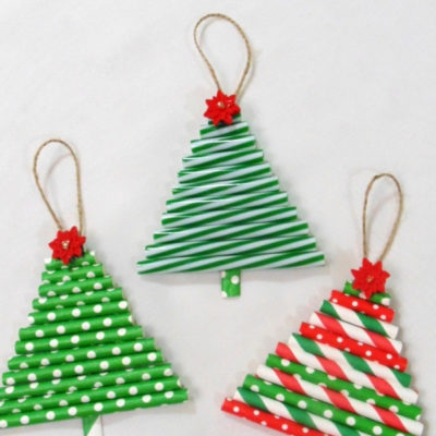 DIY tree ornaments that are quick and easy to make