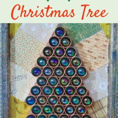 Funky DIY Repurposed Christmas Tree