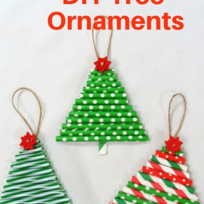 Quick & easy DIY Tree ornaments