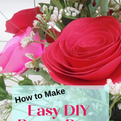 How to make easy DIY paper roses
