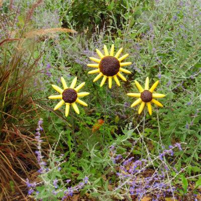 Repurposed Corn Fork Flowers for Fall
