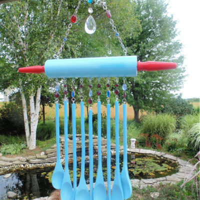 DIY Wooden Spoons Wind Chime